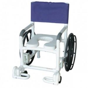 PVC Rolling Shower Chairs Duncan & Duncan Medical, INC Medical ...